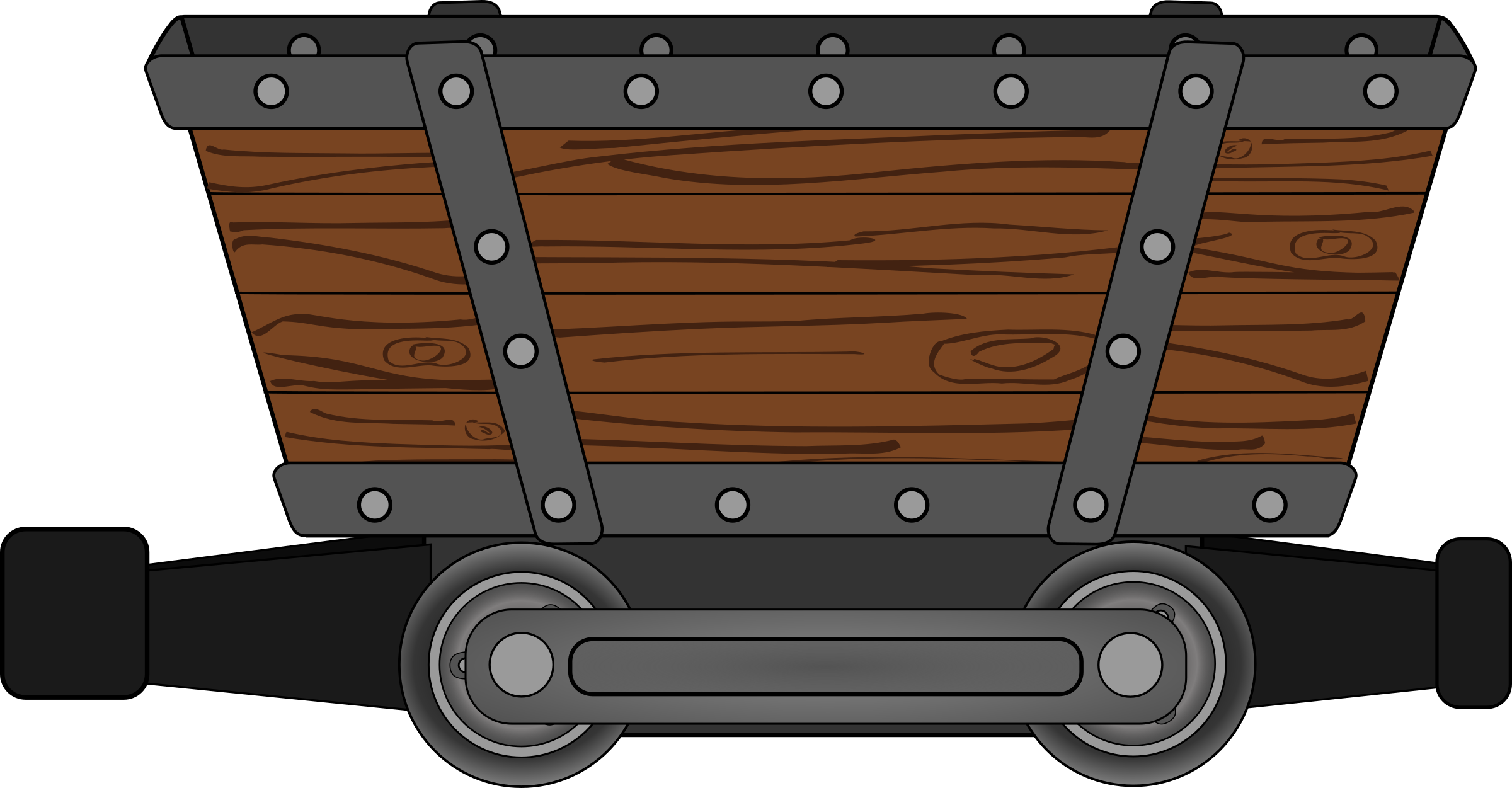 mining clipart minecart