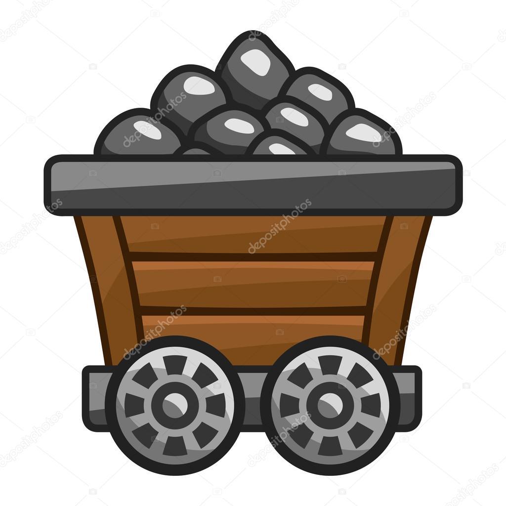 Mine free download best. Coal clipart coal cart