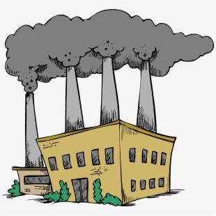 Remedies of air pollution. Coal clipart coal factory