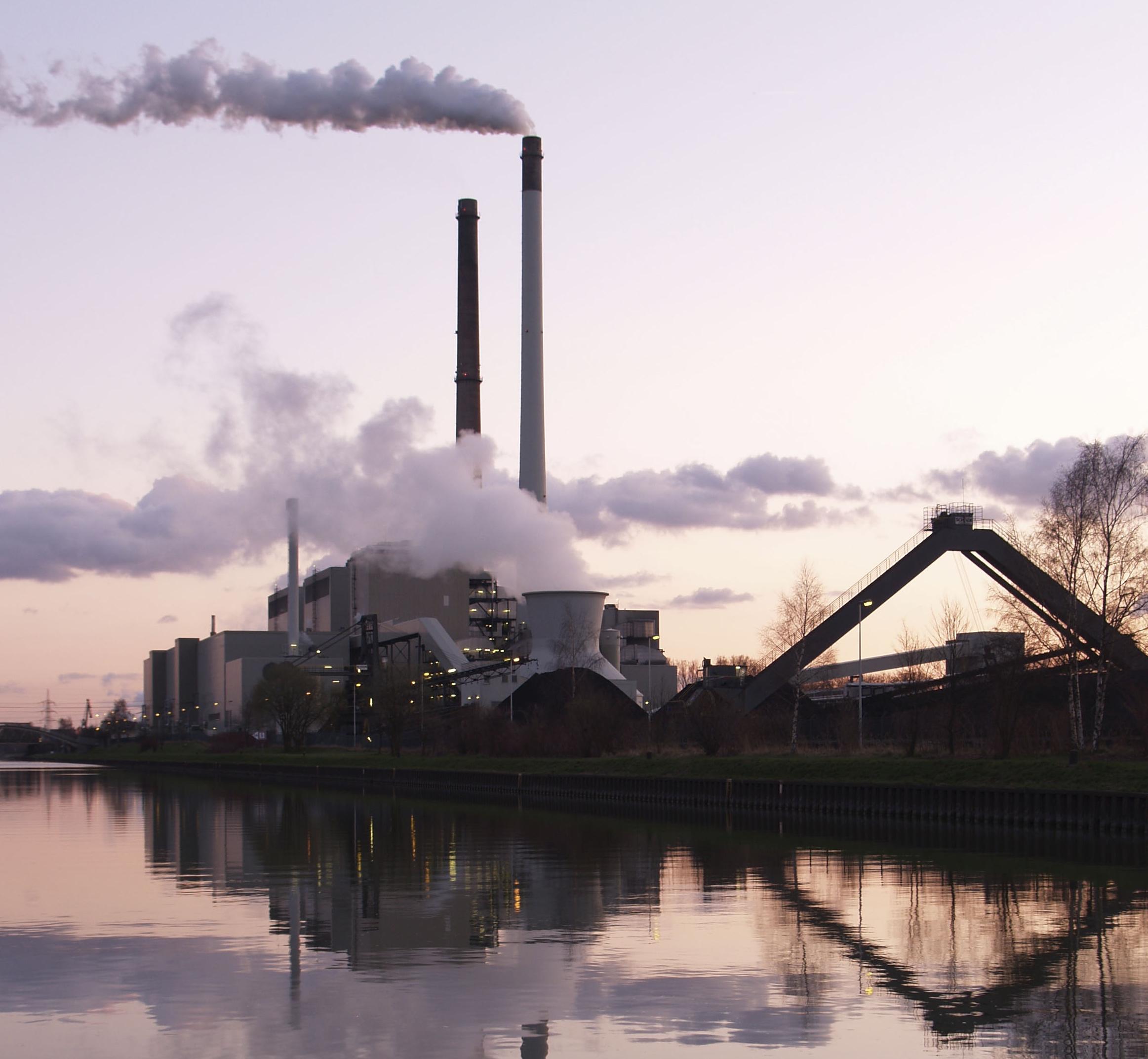 Coal clipart coal factory. Power plant datteln crop