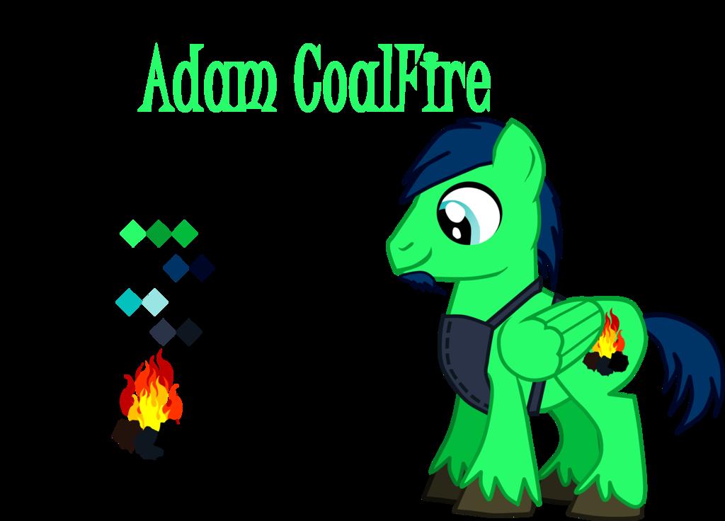 Mlp adam coalfire reference. Coal clipart coal fire