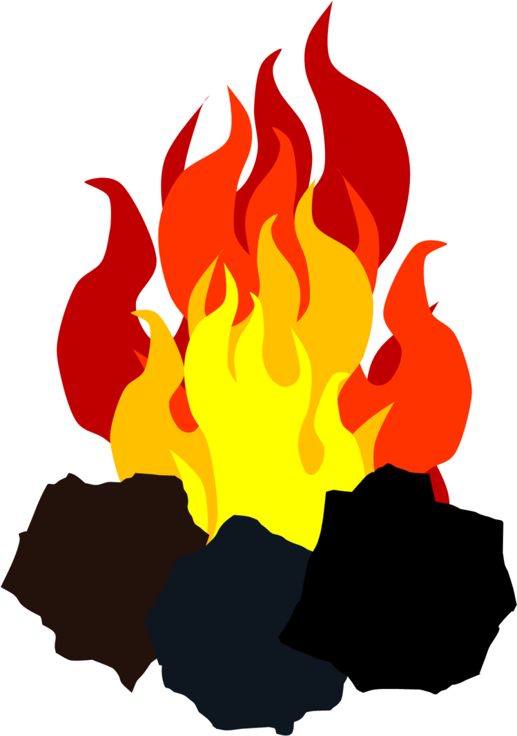 Adam coalfire cutie mark. Coal clipart coal fire