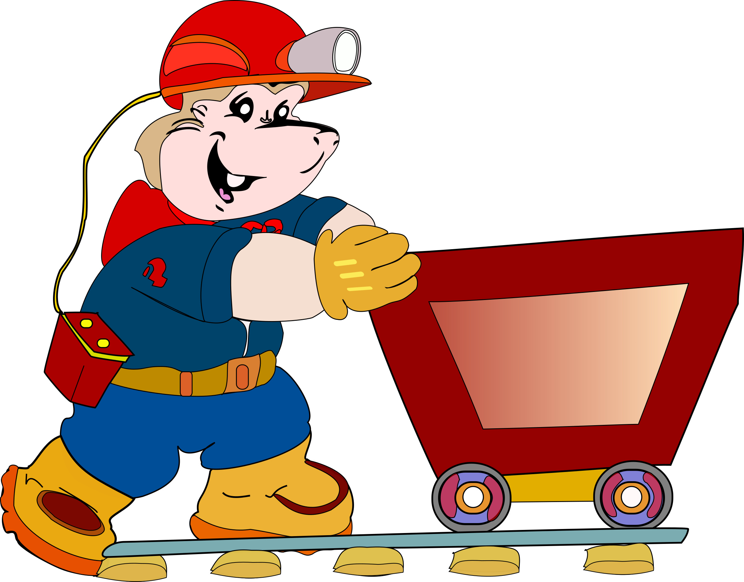 Coal clipart coal miner. Mascot big image png