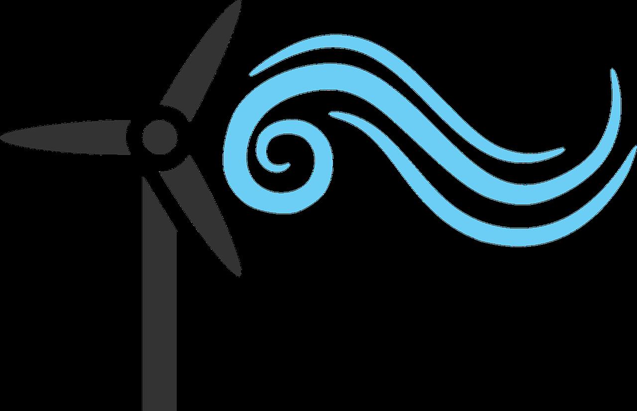 Wind renewable transparent image. Movement clipart motion energy