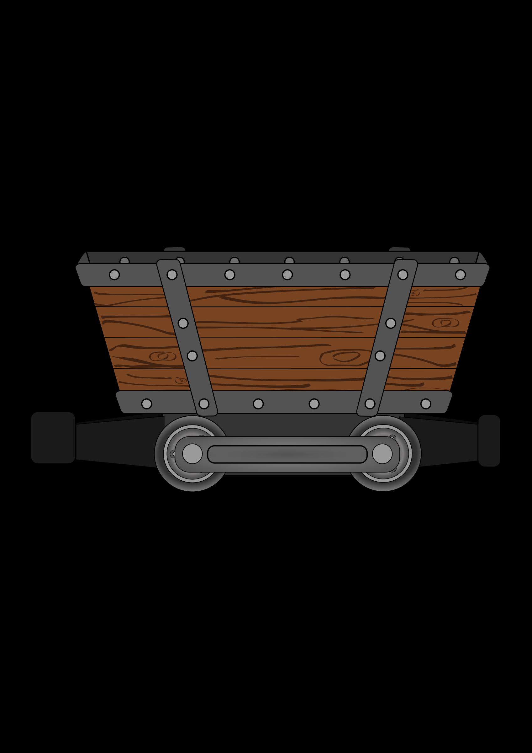 Coal clipart mine cart. Mining minecart shaft clip