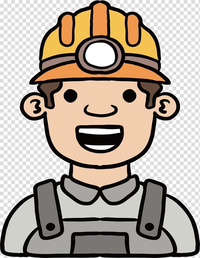 Mining miner transparent background. Coal clipart mine worker