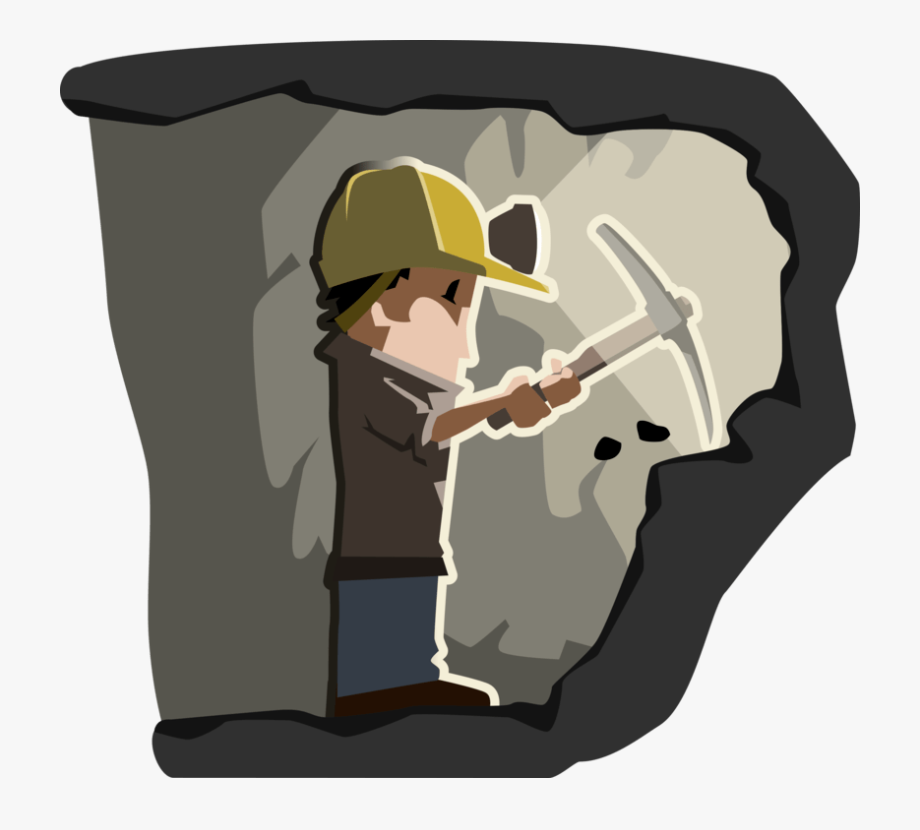 Coal clipart mine worker. Free mining miner transparent