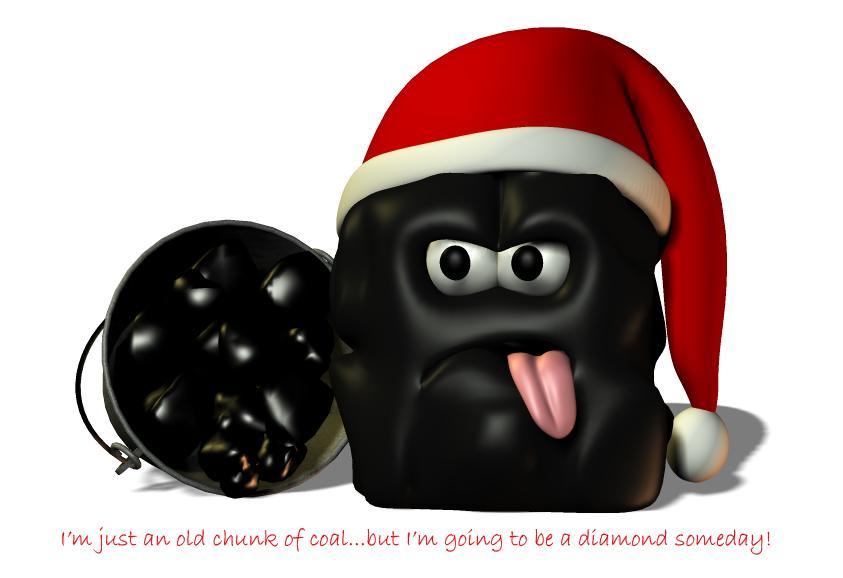 Coal clipart piece coal. Lump of by shari