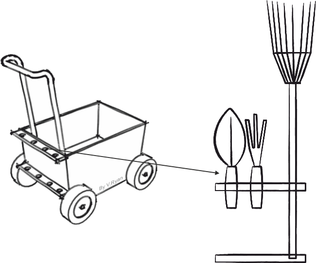 Wagon clipart easy draw. Trolley drawing at getdrawings