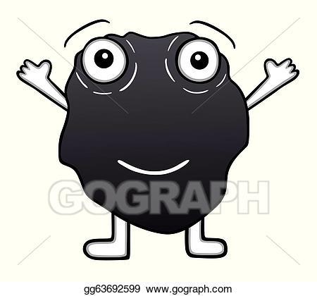 Clip art cute stock. Coal clipart vector
