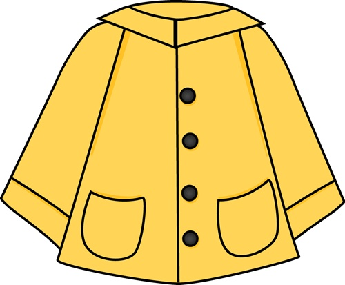 Coat clipart. Rain clip art panda