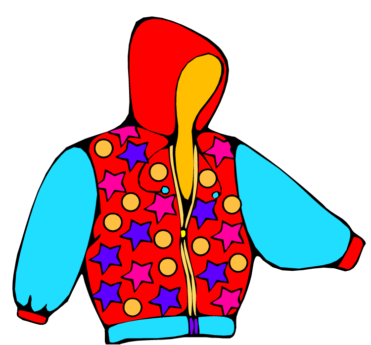 Coat . Zipper clipart kid