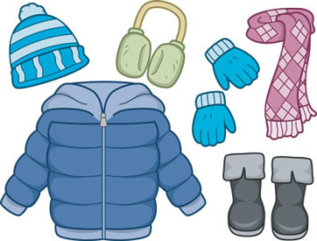 Gloves clipart cold weather clothes. The is here winter