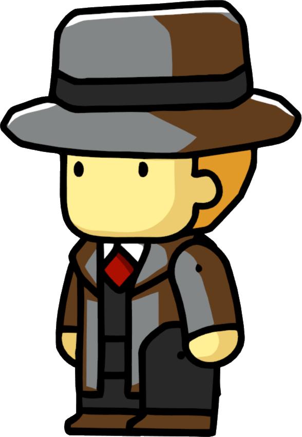 Detective clipart female detective. Scribblenauts wiki fandom powered