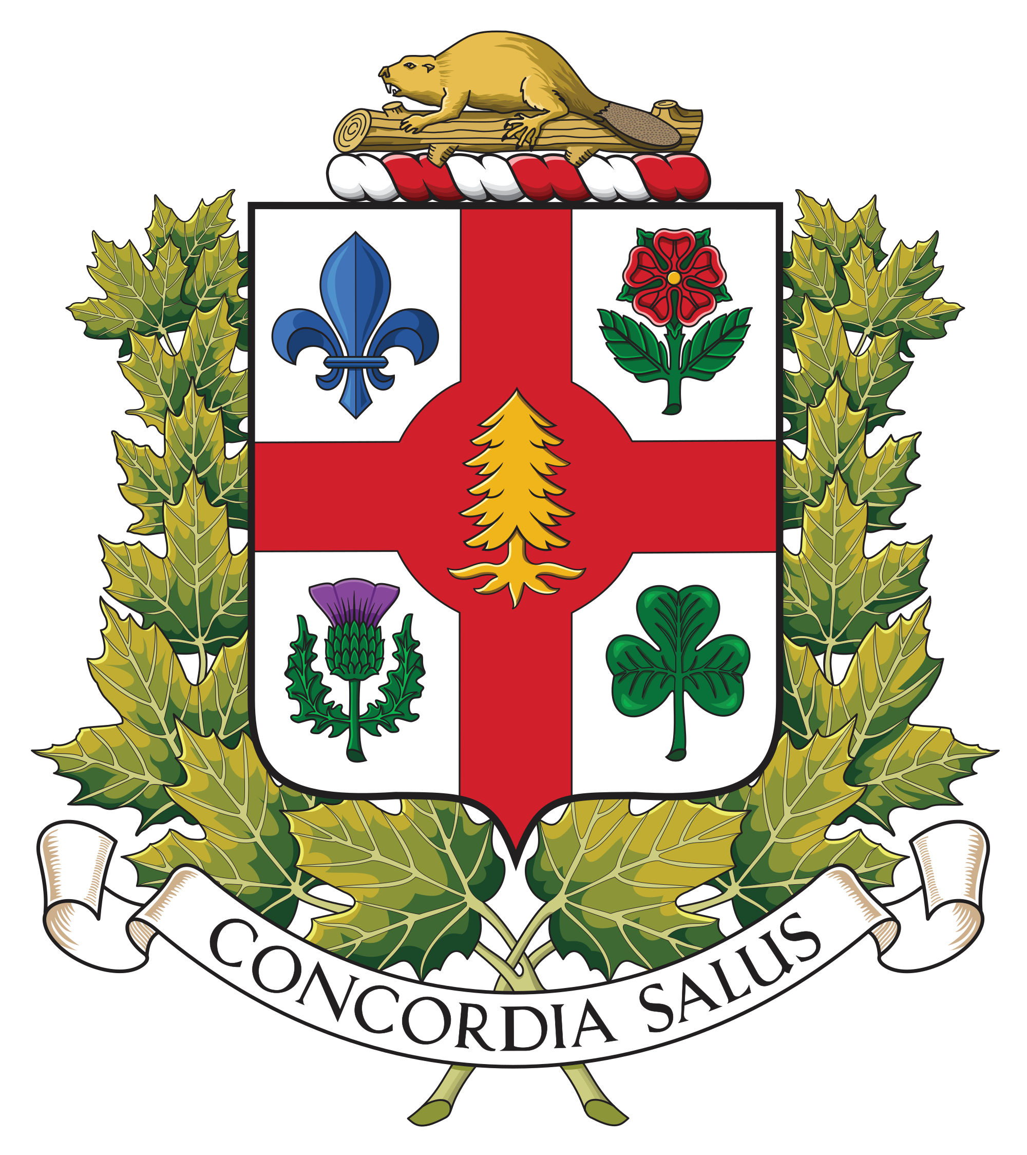 Courthouse clipart municipality. Coat of arms montreal