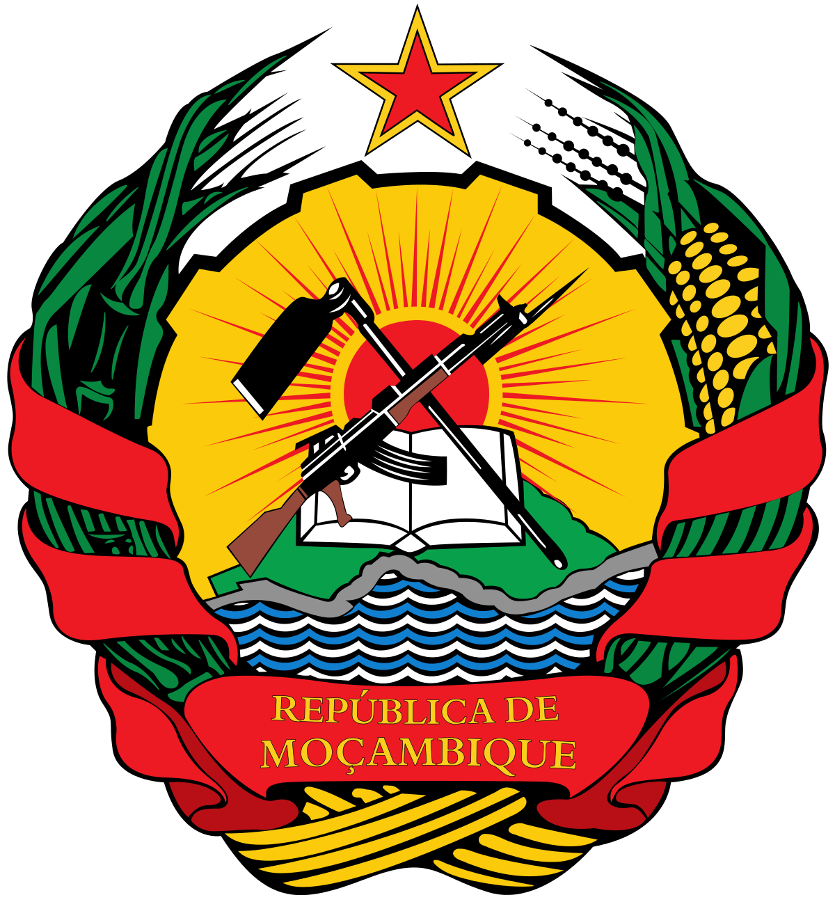 Election clipart presidential inauguration. Emblem of mozambique wikipedia