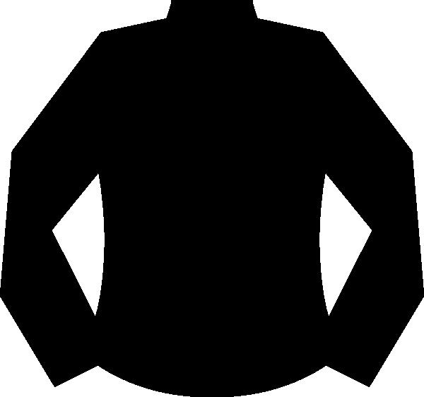 hoodie clipart vector black