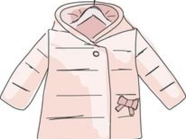 coat clipart girl jacket