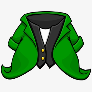 Free tuxedo cliparts silhouettes. Leprechaun clipart coat