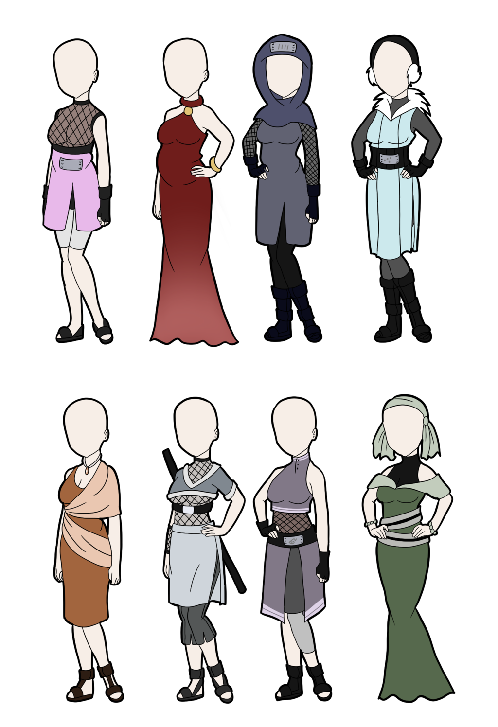 Humans clipart human character. Outfit adoptables left by