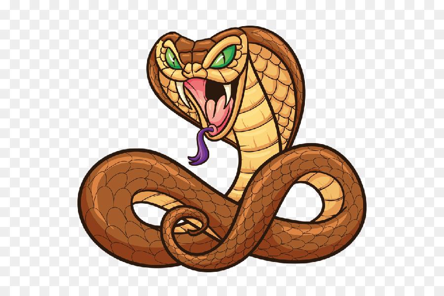 Cobra clipart. Snake cartoon clip art