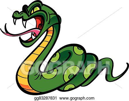 Eps illustration vector gg. Snake clipart angry snake