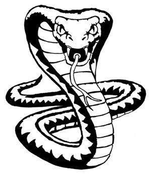 Cobra clipart cool snake. King drawings drawing
