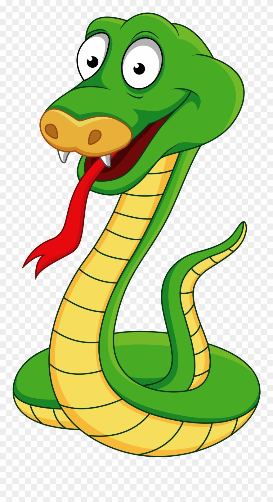 A f d aa. Cobra clipart dangerous snake