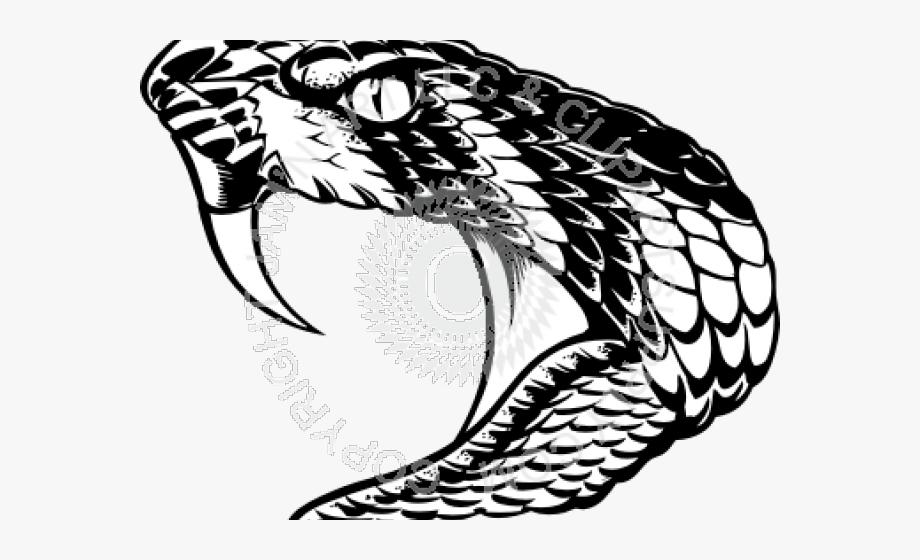 Cobra clipart fang. King svg snake head