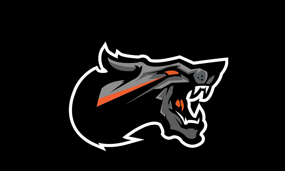 Dogma mascot logo on. Warrior clipart secondary