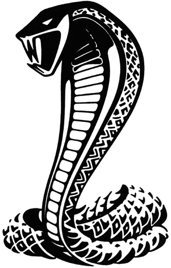 Cobra clipart poisonous snake. King coloring pages