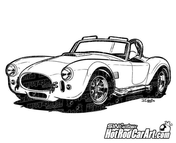 Cobra clipart shelby cobra.  clip art automotive