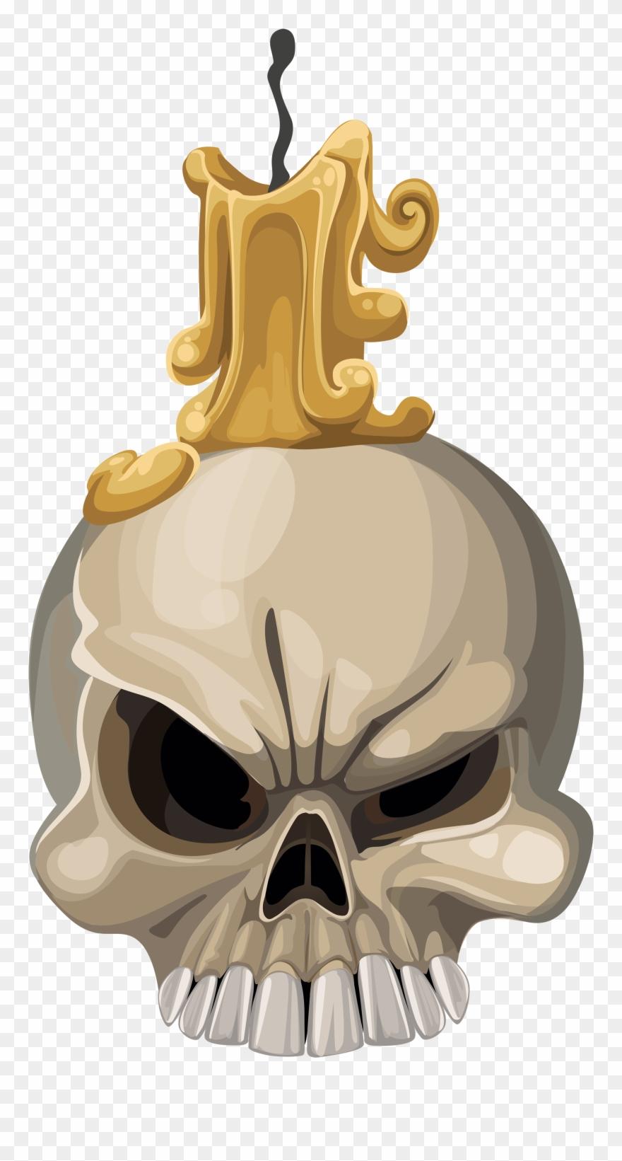 Vela de halloween desenho. Cobra clipart skull