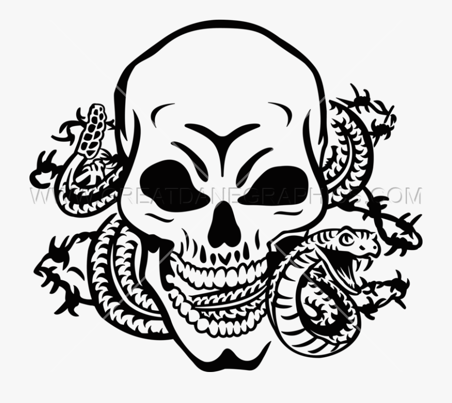 Cobra clipart skull. With snake png cliparts