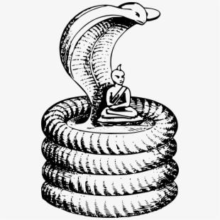 Line art free cliparts. Cobra clipart snake hood