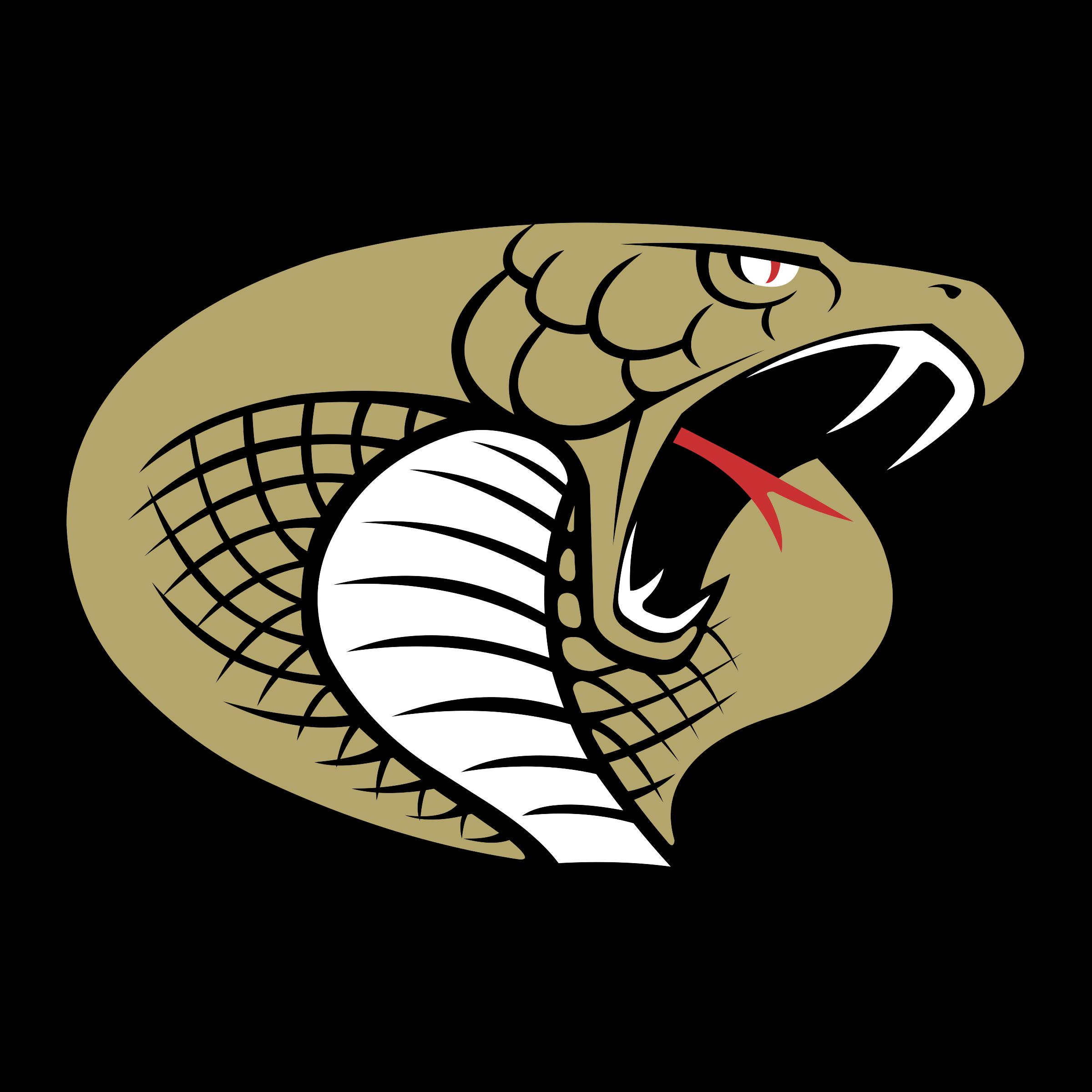 Carolina cobras logo png. Cobra clipart svg