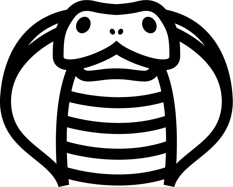 Cobra clipart svg. Front outline png icon