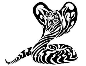 Free snake cliparts download. Cobra clipart tribal