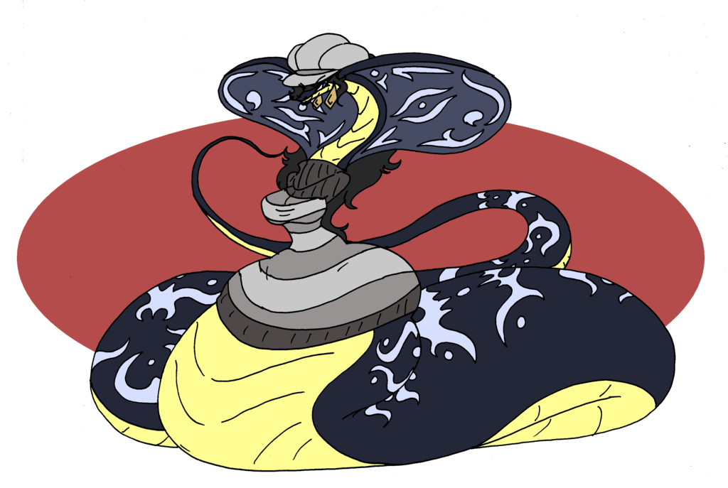 Ebonii by da fuze. Cobra clipart tribal