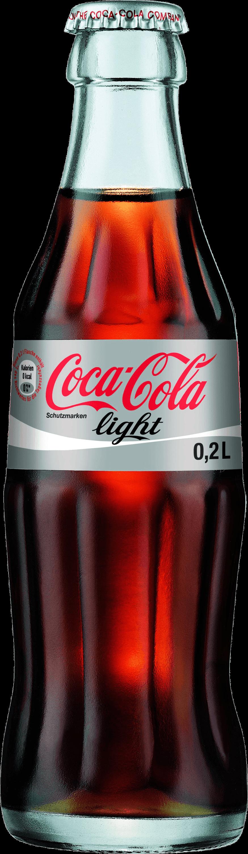 Coke light transparent stickpng. Coca cola bottle png
