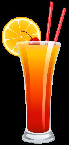 Cocktail tequila sunrise png. Cocktails clipart
