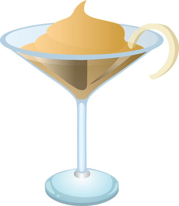 Collection of sundaes cliparts. Cocktail clipart animated
