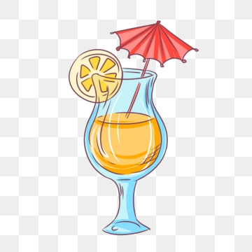 Cartoon png images vector. Cocktail clipart animated