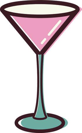 Cocktail clipart animated. Cartoon martini glass clipartix