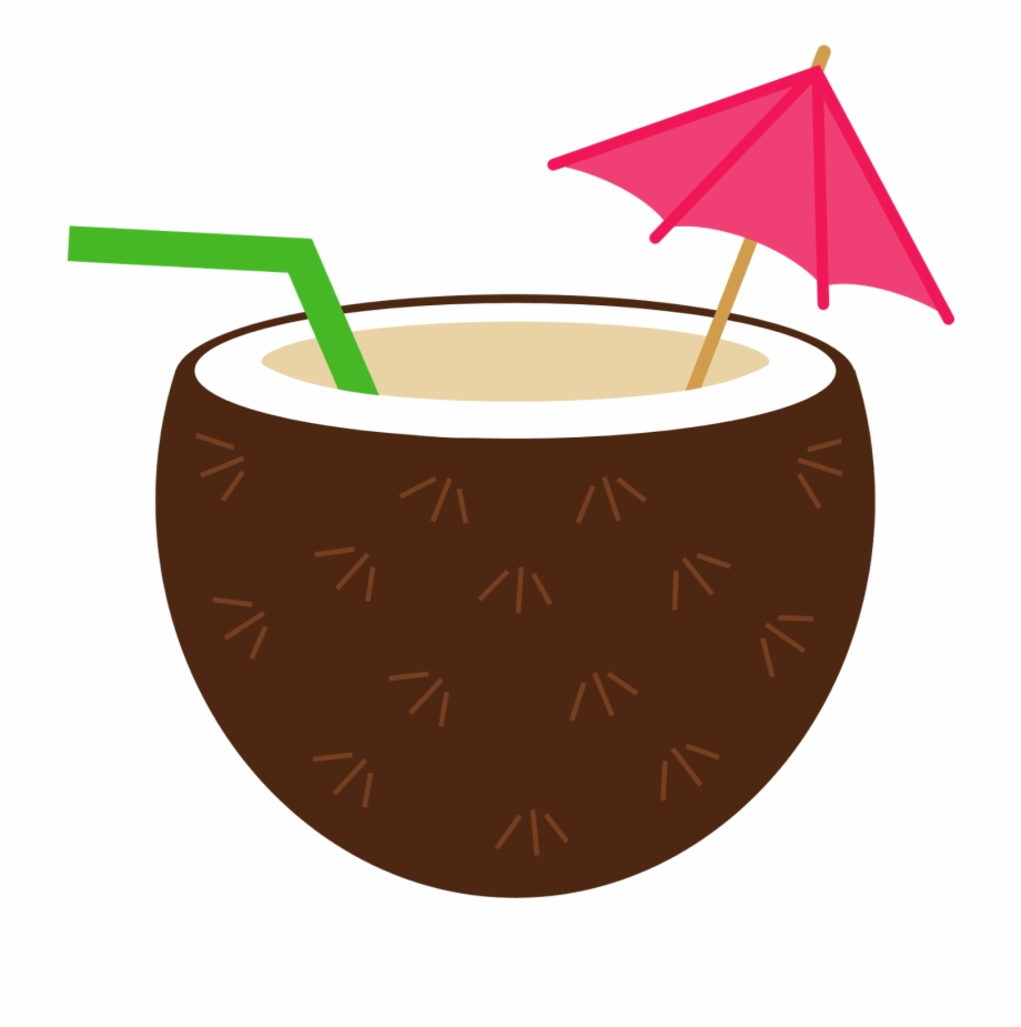 Clip art free png. Cocktail clipart coconut