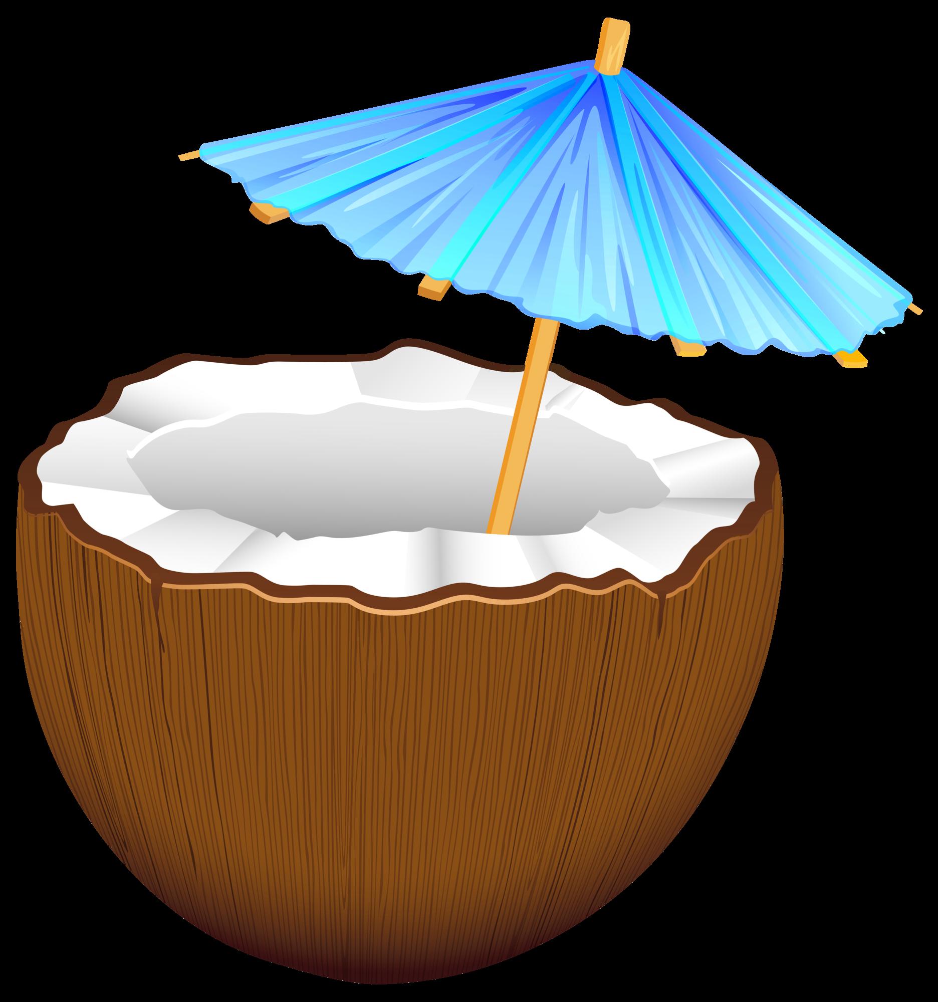 Png clip art . Cocktail clipart coconut