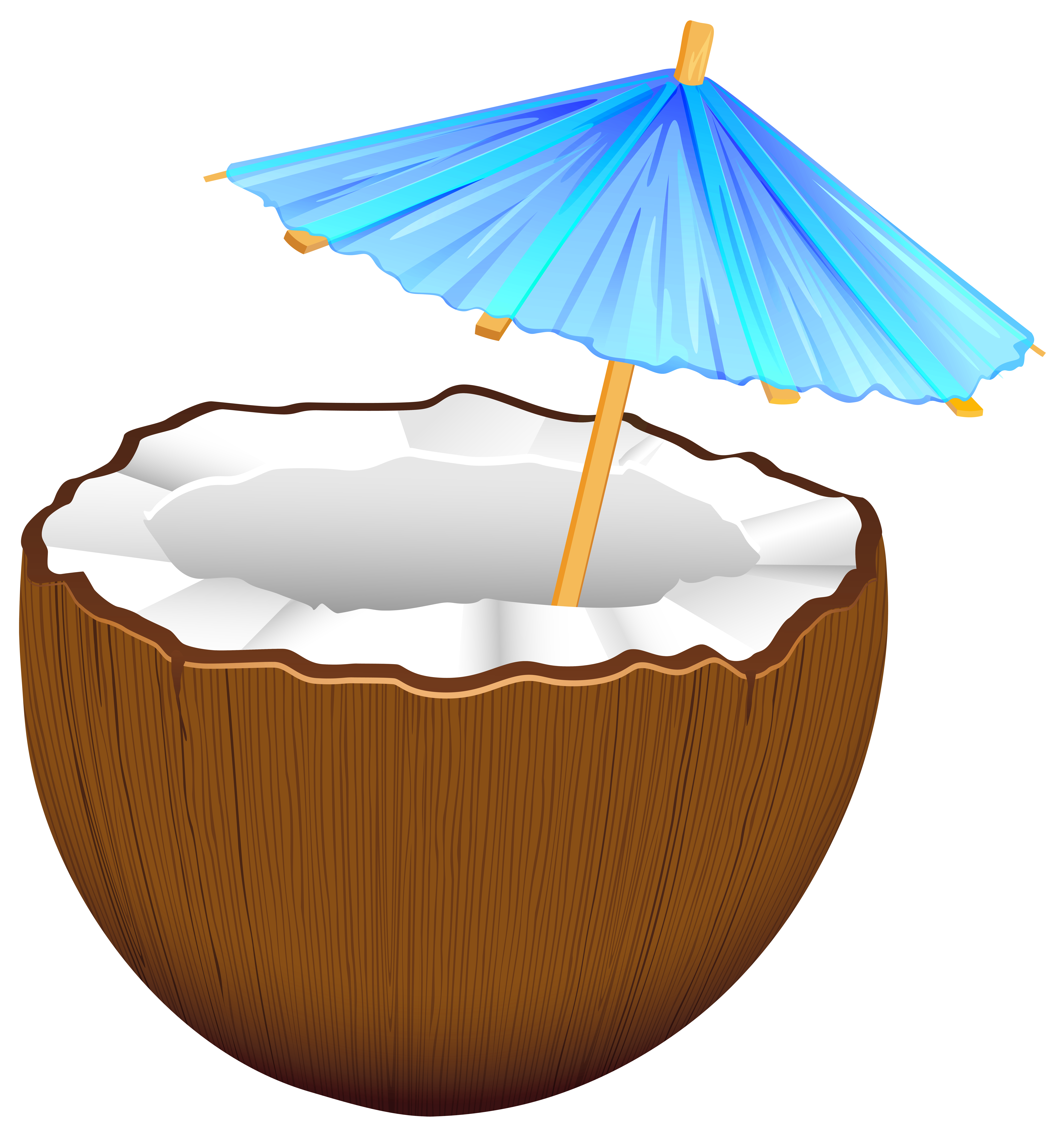 Png clip art best. Cocktail clipart coconut