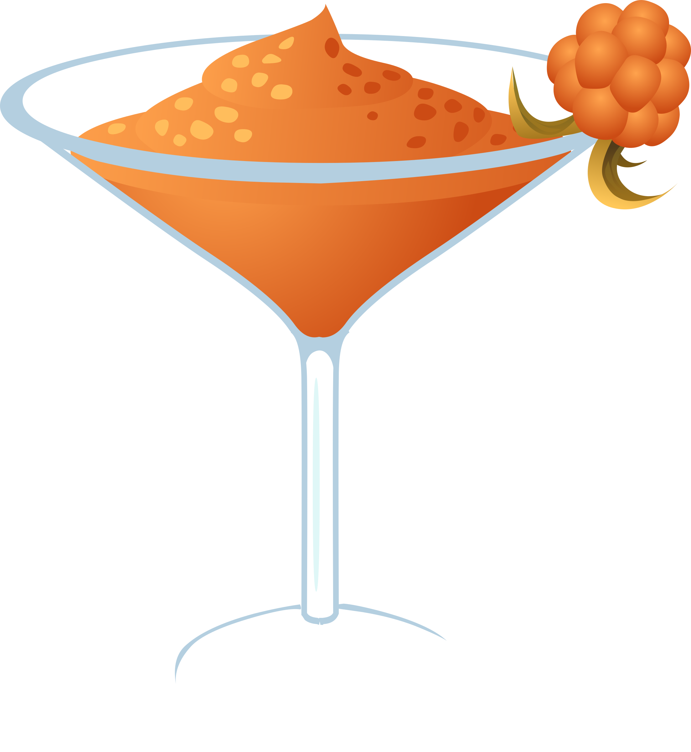Drinks clipart vector. Drink cloudberry daiquiri icons