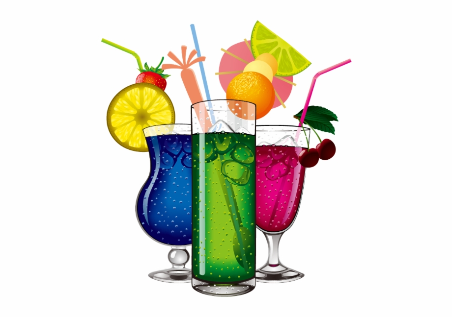 Cocktail clipart colorful. Ftestickers drinks cocktails