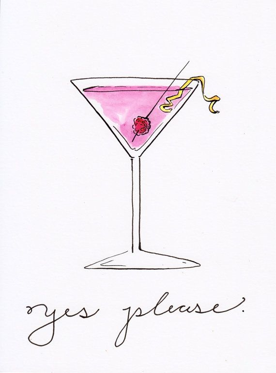 cocktail clipart cosmo